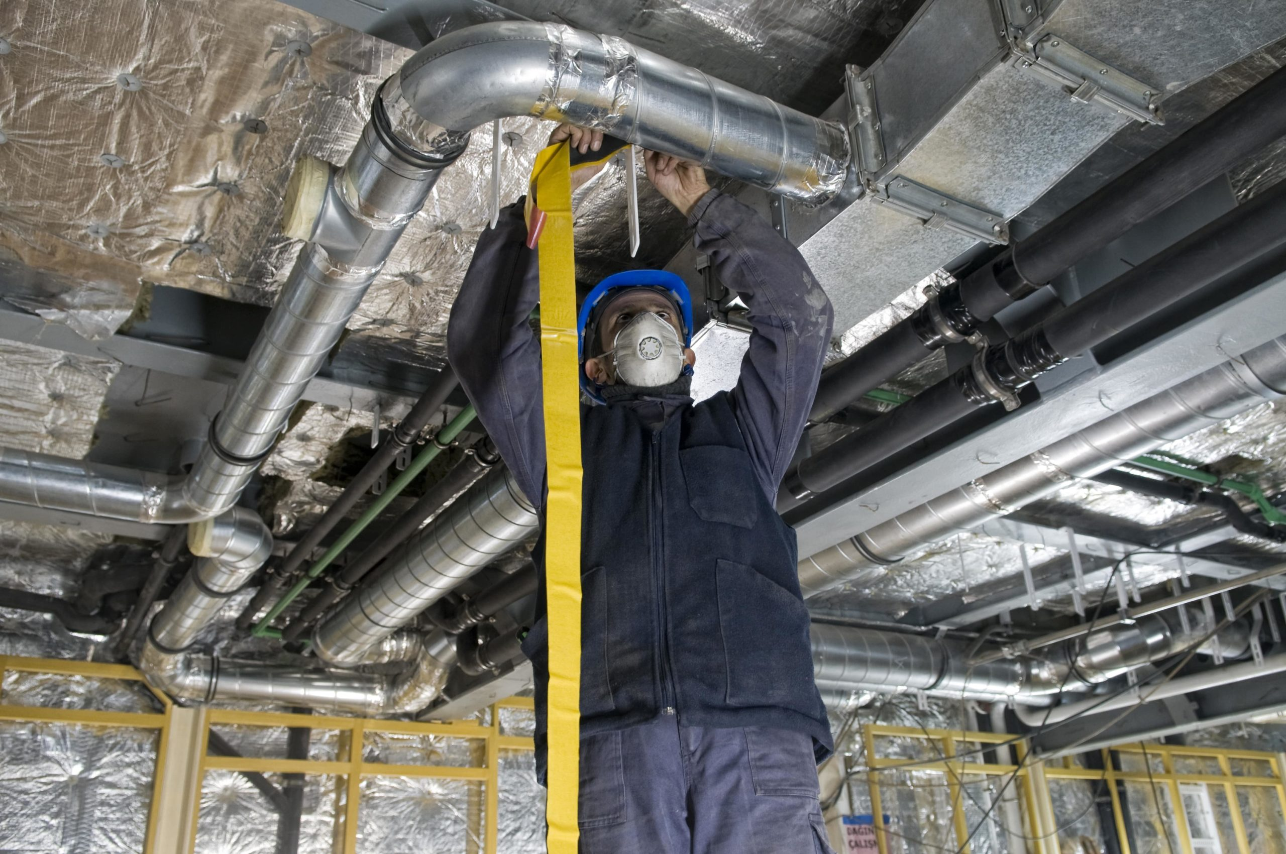 A Los Angeles contractor improving a business' HVAC facilities