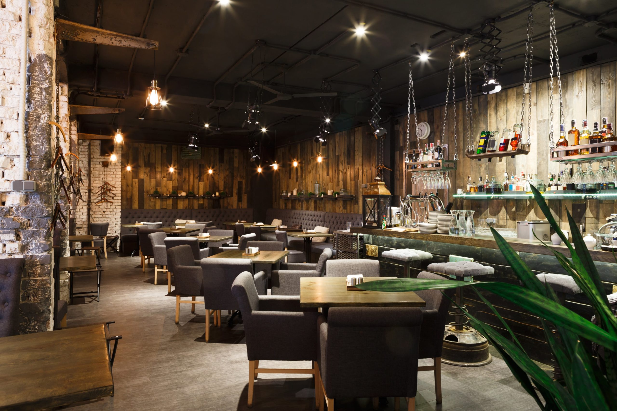 A new Los Angeles restaurant with a modern design
