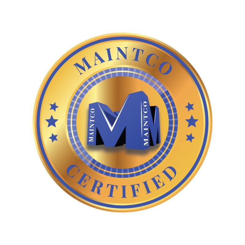 Maintco Certified emblem