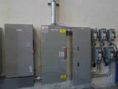 One of Maintco's electrical projects for LA Turbine